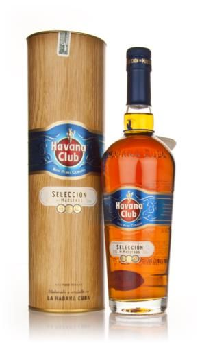 The new edition of Havana Club's very popular Cuban Barrel Proof, Seleccion de Maestros is a superb rum, bottled at higher strength.