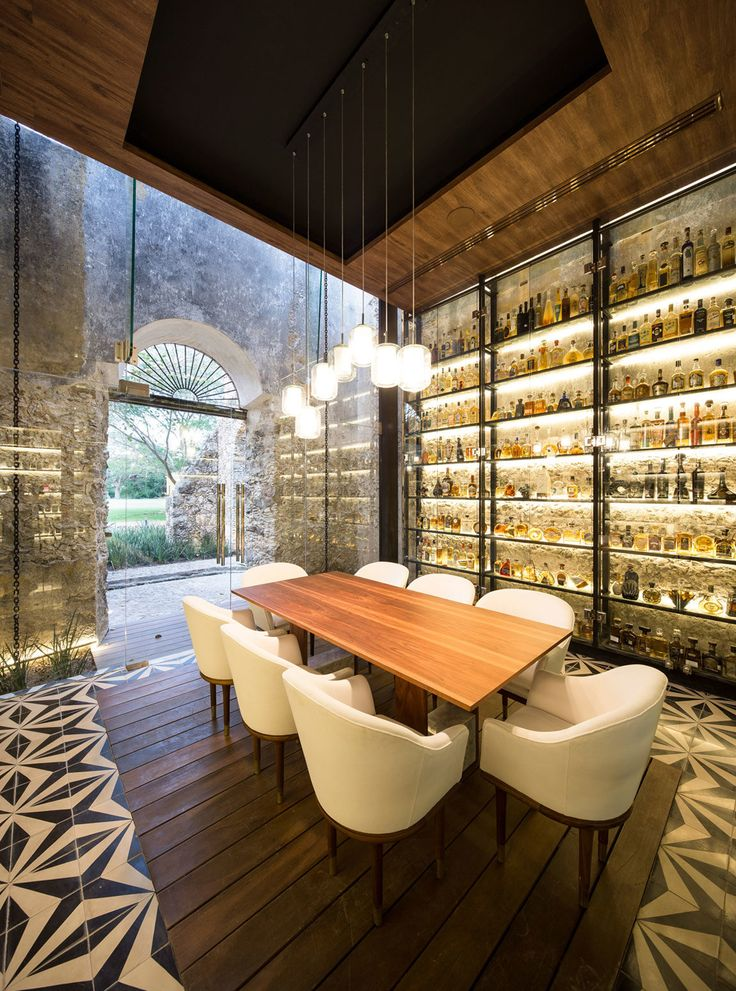 An Old Textile Factory Turned Into a Fantastic Restaurant in Mexico.
