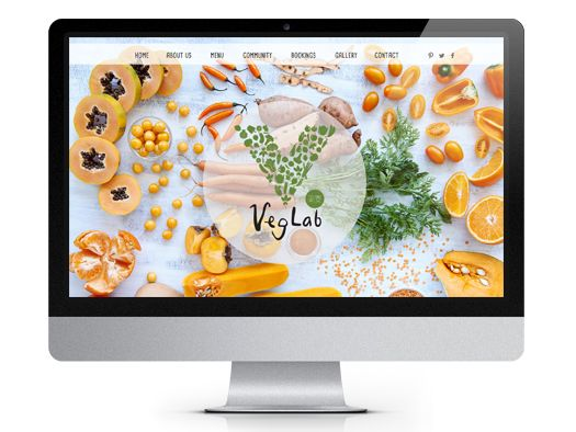 Veg Lab website