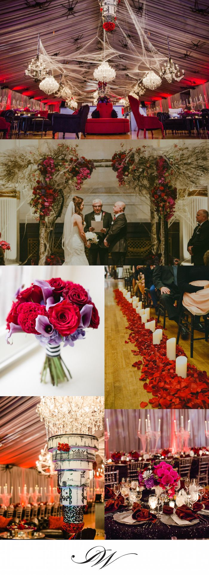 Discover A Stylish Halloween Themed Real Wedding Part 96