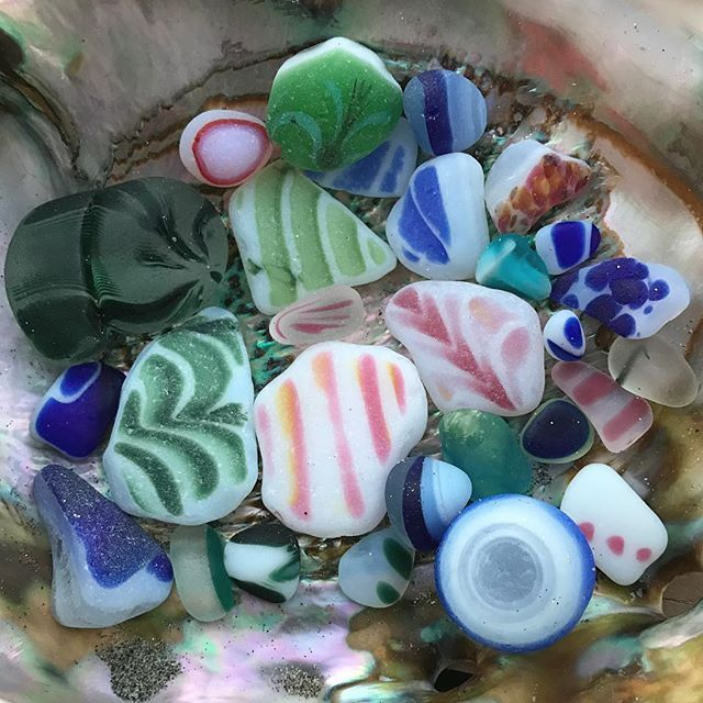 Beach Pottery Ideas: 17 Best Images About Sea Glass