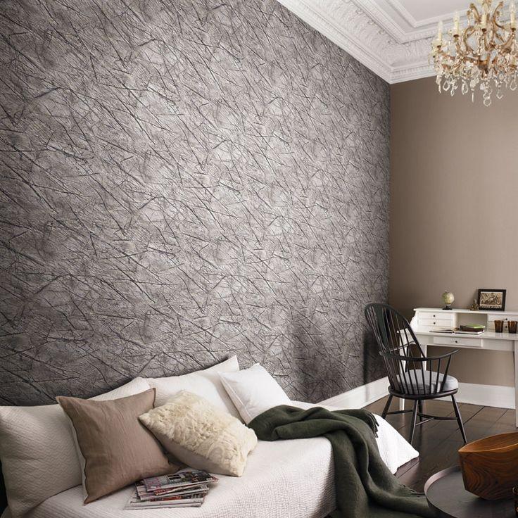 53 best Steintapeten Tapeten in Steinoptik images on Pinterest - tapeten trends schlafzimmer