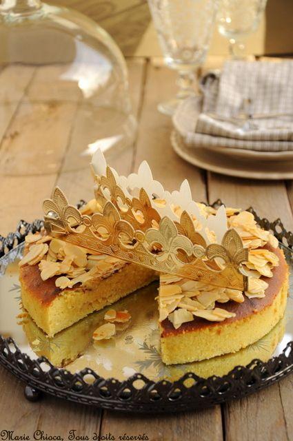 """Un gâteau- """"galette"""" des rois à IG bas - Saines Gourmandises... par Marie Chioca"""