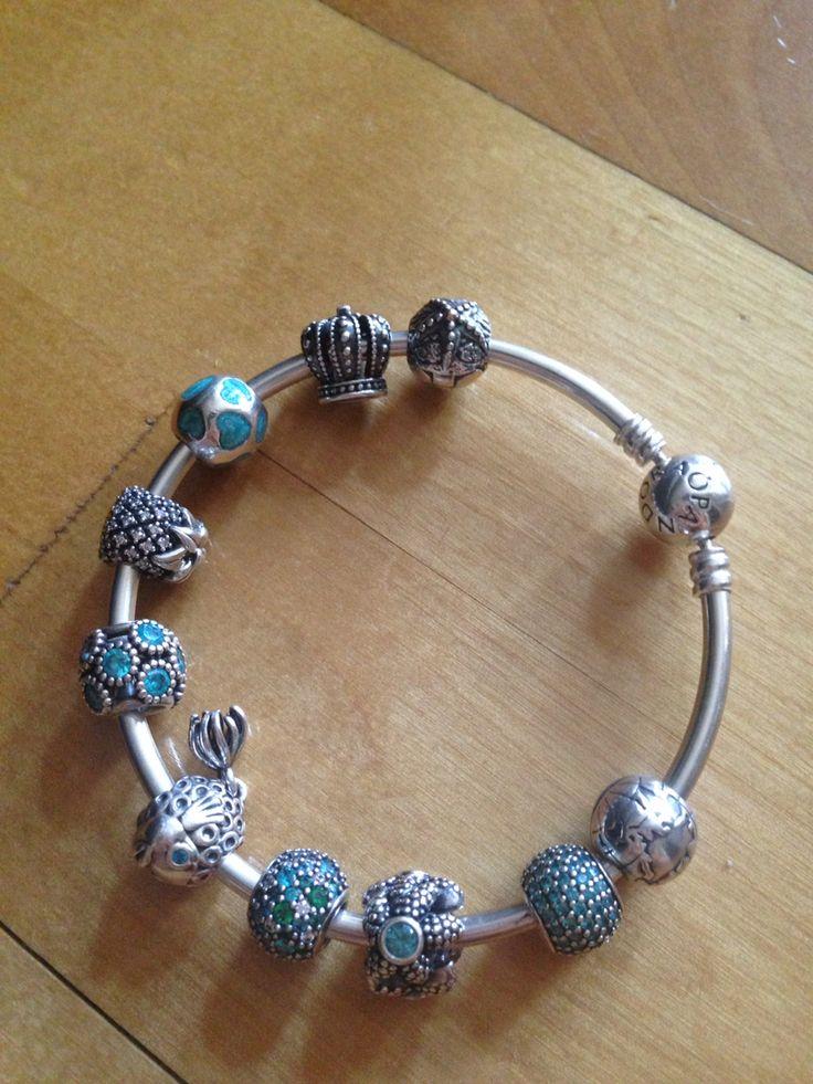 Summertime sadness inspired pandora bracelet