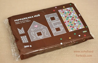 IKEA Gingerbread House Kit - got- need stuff to stick it together and sweets to decorate, now!