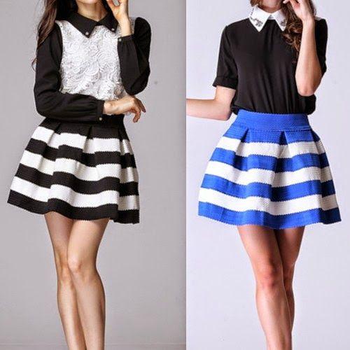 Patrón y costura nos muestra en este evento cómo realizar una  falda con pliegues . Nivel de dificultad: fácil.               ...