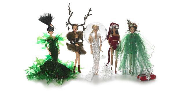 Оригинальные новогодние наряды для Барби
