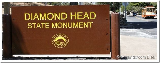 Diamond Head-passeio no Havai para conhecer o vulcão da ilha de Oahu
