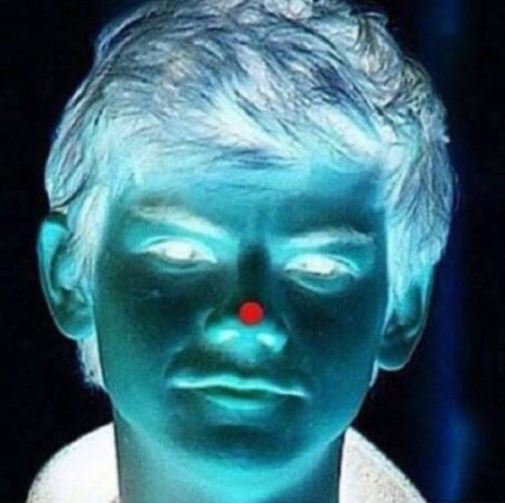 Stare at the red dot for 30 seconds and then look at a wall and blink☺︎♡☺︎♡