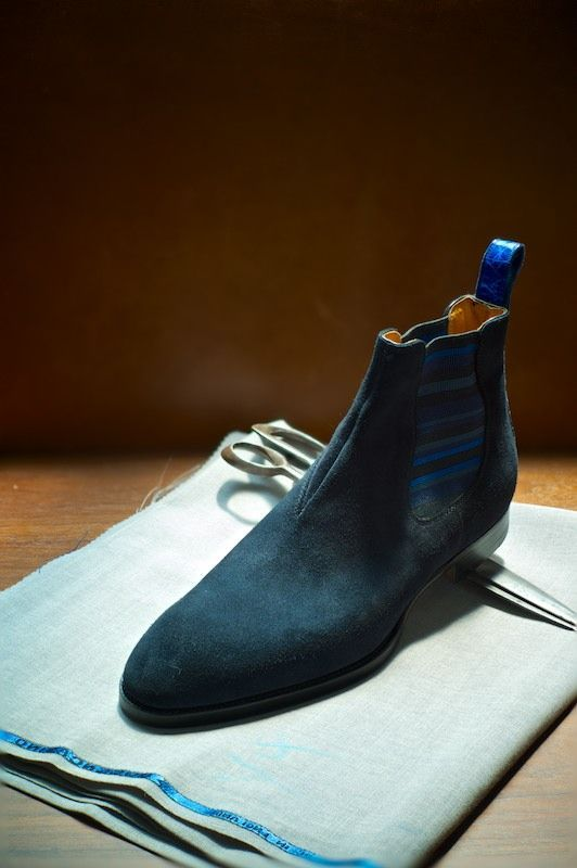 The Best Men's Shoes And Footwear :   Phillip's Favourites Model 400 Chelsea Boot Saint Crispin's at The Armoury    -Read More –   - #Men'sshoes