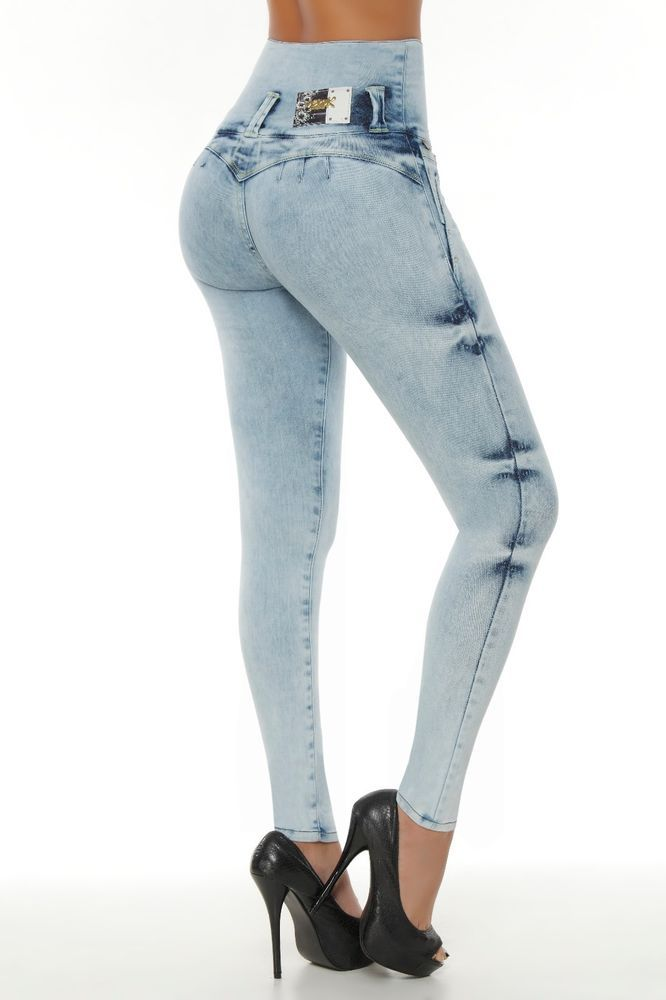 Verox Jeans colombianos butt lifter fajas colombianas jeans levanta cola 1817 #VeroxJeans #SlimSkinny