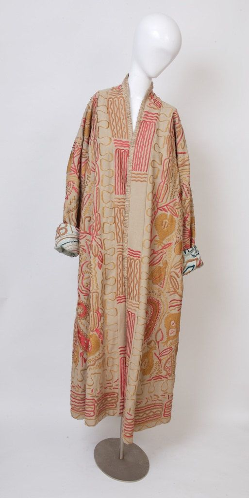 DRIES VON NOTEN  Embroidered Duster Coat by MadVintageCouture, $3500.00