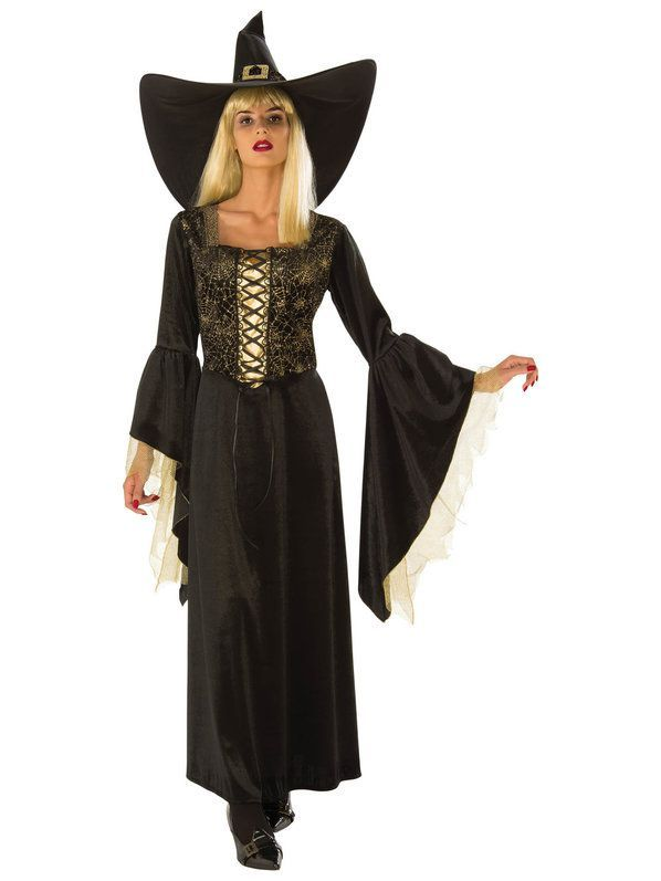 Golden Web Witch Costume for Women | Witches costumes for