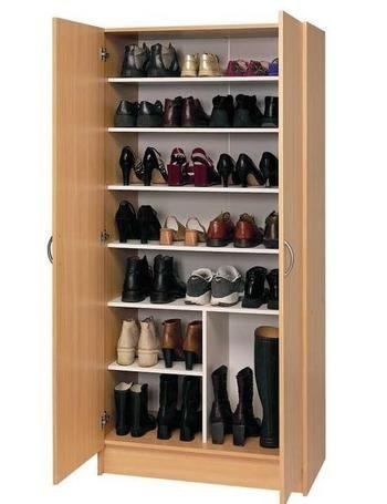 Genial tip para que tus zapatos estén siempre organizados #organizar #vestidor