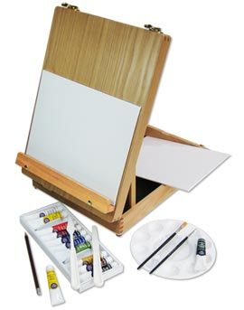 Artifolk Artists' Acrylic Painting Box Easel Set (1054)