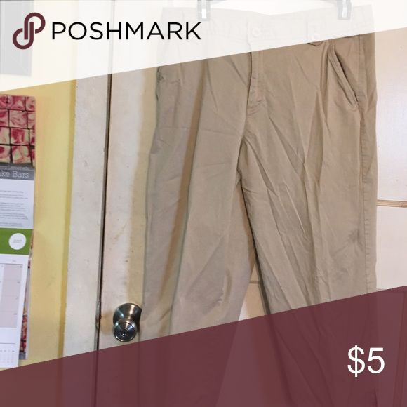 White stag khaki capris White stag khaki capris in very good condition. White Stag Pants Capris