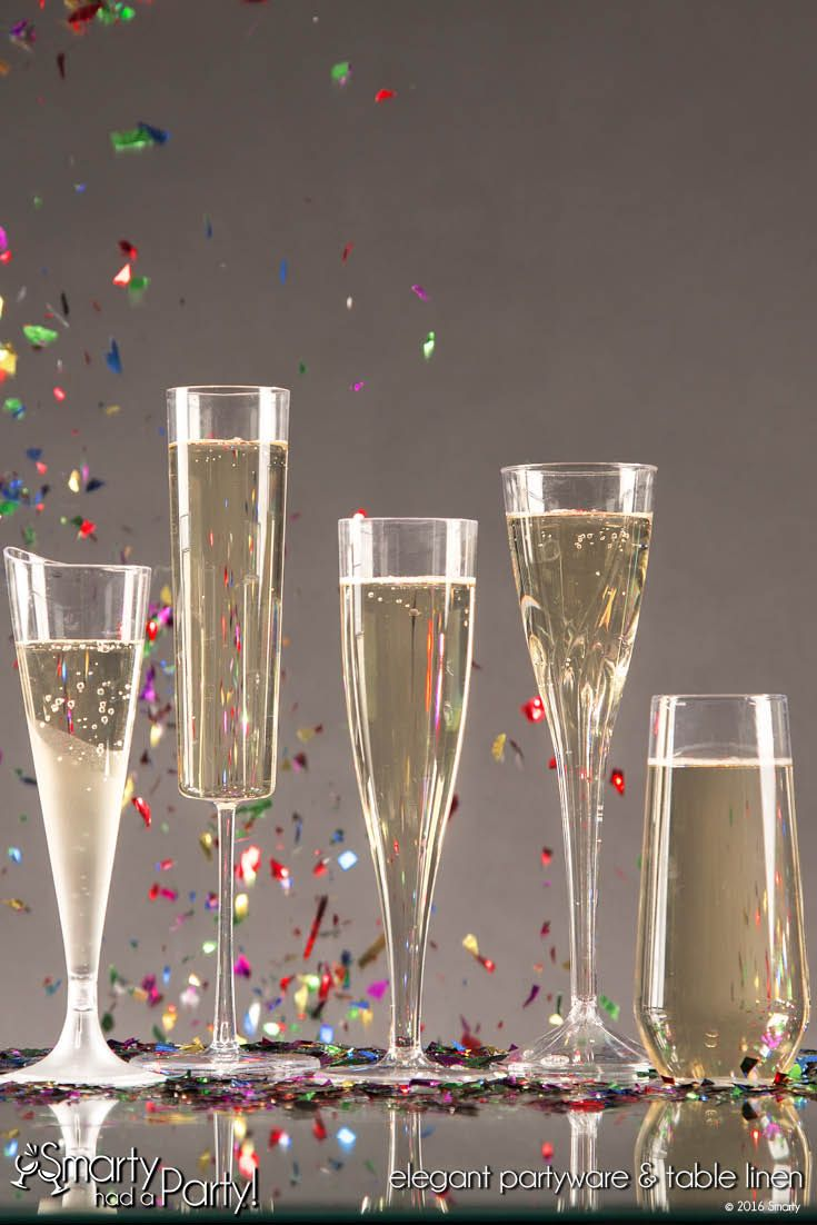 Celebrate without the stress! #Elegant #Disposable #Partyware | SmartyHadAParty.com
