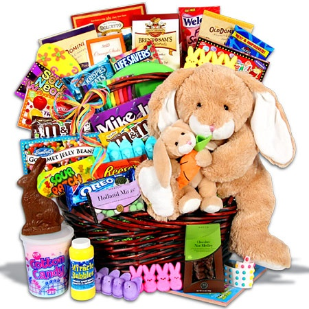 127 best gift basket raffle ideas images on pinterest basket easter gift basket for kids negle Choice Image