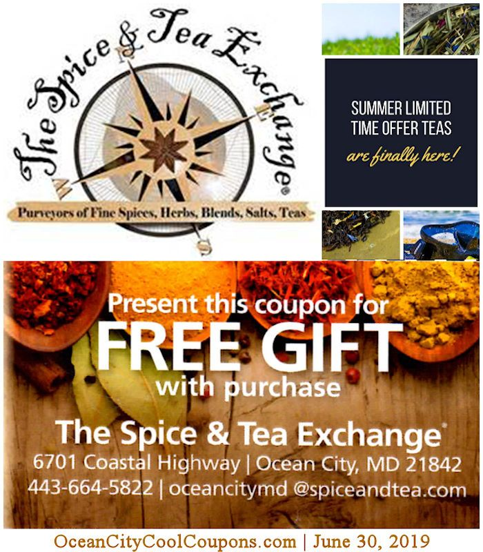 The Spice And Tea Exchange Closed Feb 10 2019 Ocean City Cool Ocean City Ocean City Md Ocean