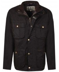 Barbour Men's New Utility Wax Jacket - Olive MWX0827OL71
