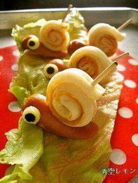 Würstchen-Schnecke (Quelle: Facebook)