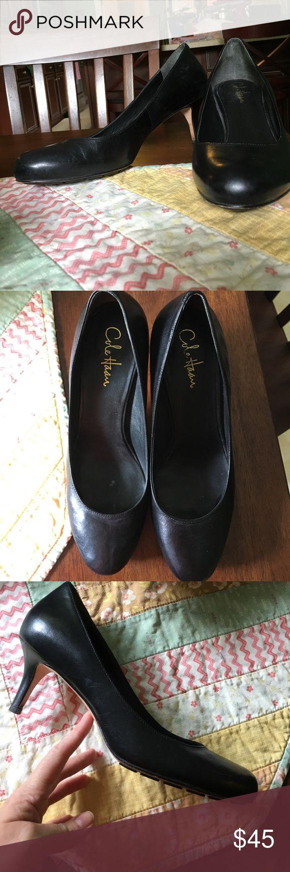 Cole Haan Nike Air black pumps sz 9.5 black euc Great basic pump from Cole Haan with Nike Air Cole Haan Shoes Heels