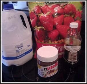 Easy Kid Smoothie Recipes: Strawberry & Nutella Smoothies | Madame Deals, Inc.