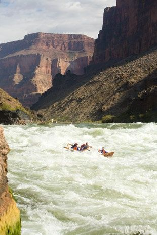 White Water Rafting through the Grand Canyon. Maybe I would start with something lighter. But this is something I have always wanted to do!