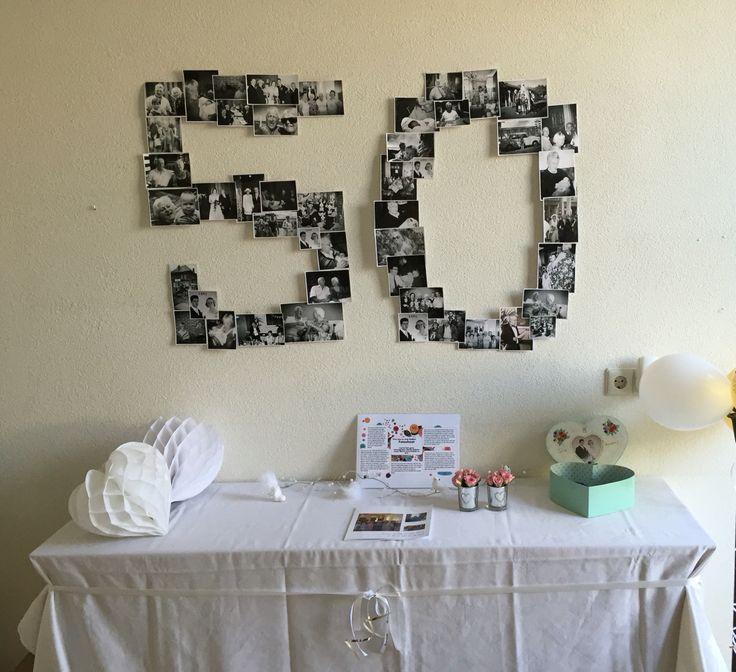 50 jaar getrouwd knutselen Best 7 50 jaar getrouwd ideas on Pinterest | 50th, Wedding ideas  50 jaar getrouwd knutselen
