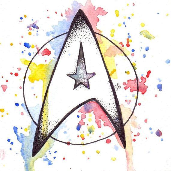 4x4 Star Trek Print | Etsy