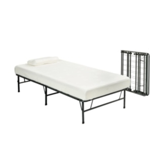 overstock with a powder coated steel frame this twin xl bed frame