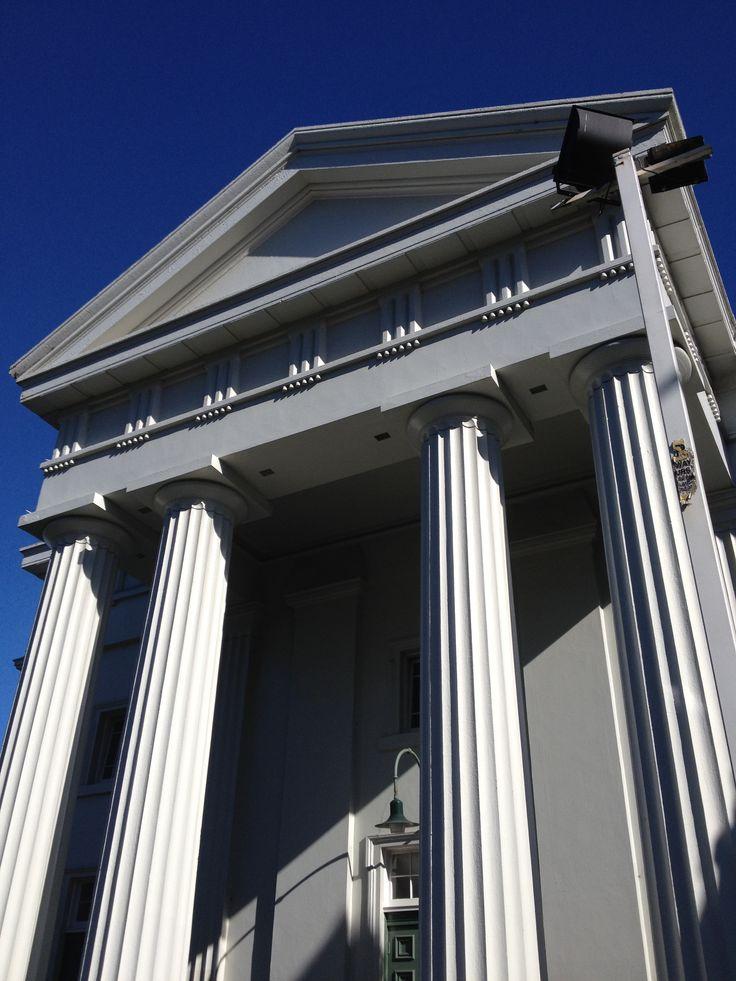 Fluted columns- St Andrews