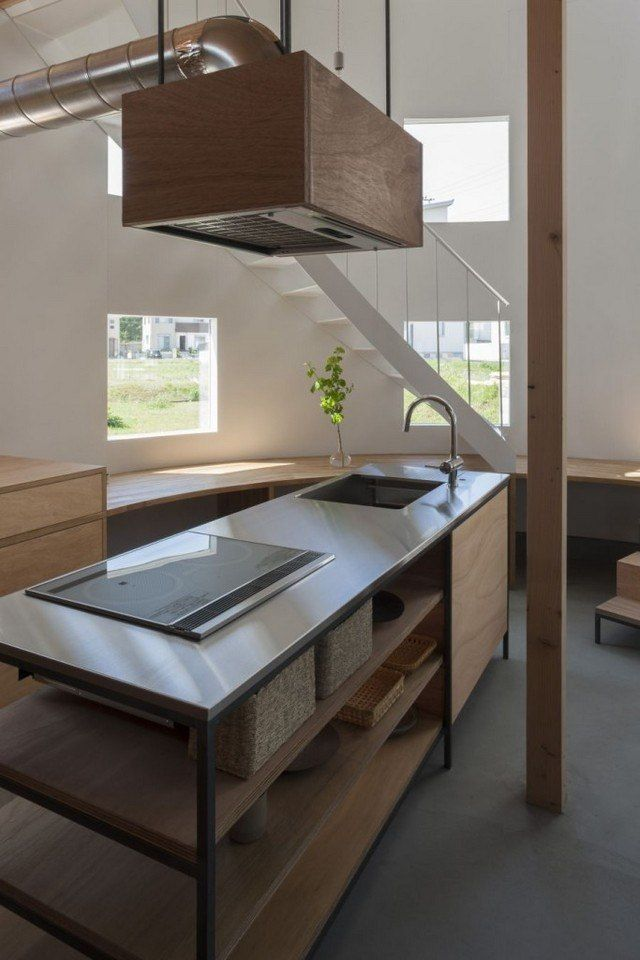 Cucina in stile giapponese e minimalista #cucina #giapponese ...