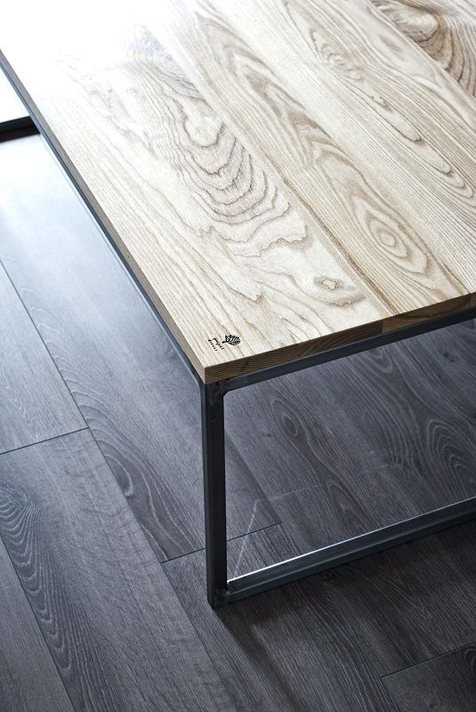 Designed and handmaded table by Projekt Drewno.