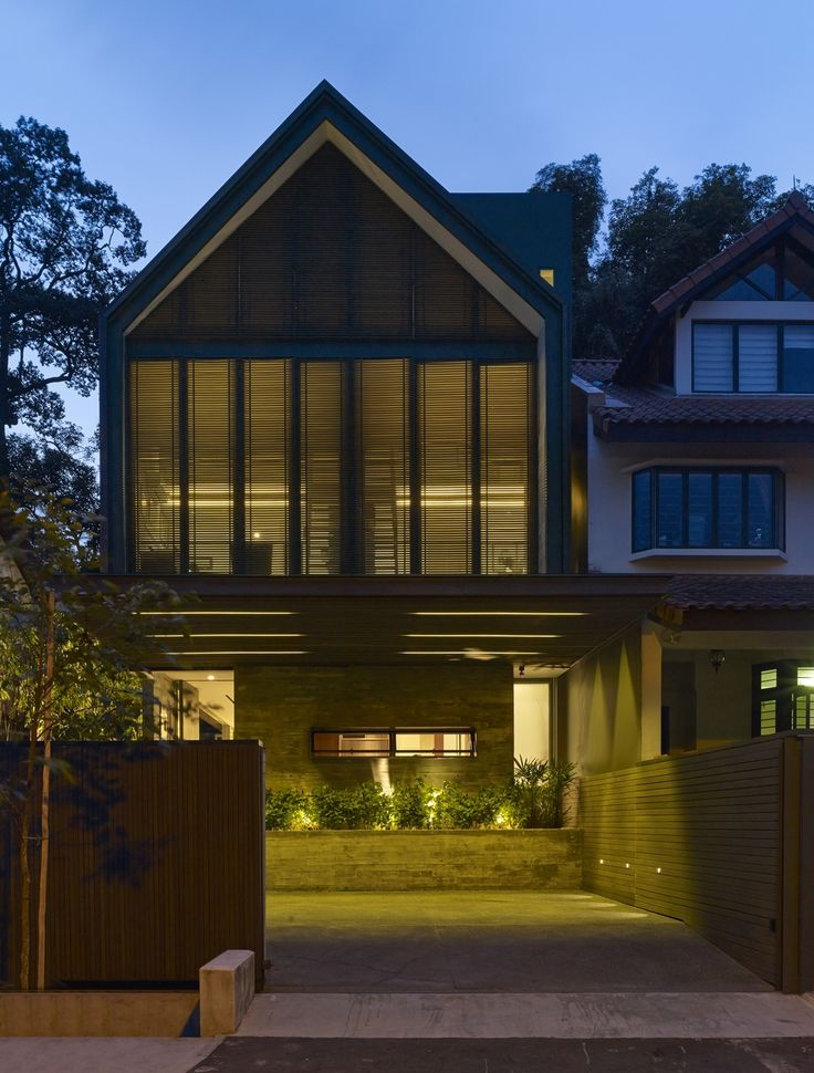 Modern gable roof designs google search front porch - Modern gable roof designs ...