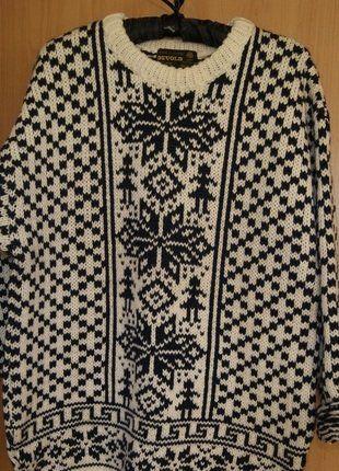 Kup mój przedmiot na #vintedpl http://www.vinted.pl/damska-odziez/swetry-z-golfem/15906497-sweter-zimowy-norweski-goralski-welniany