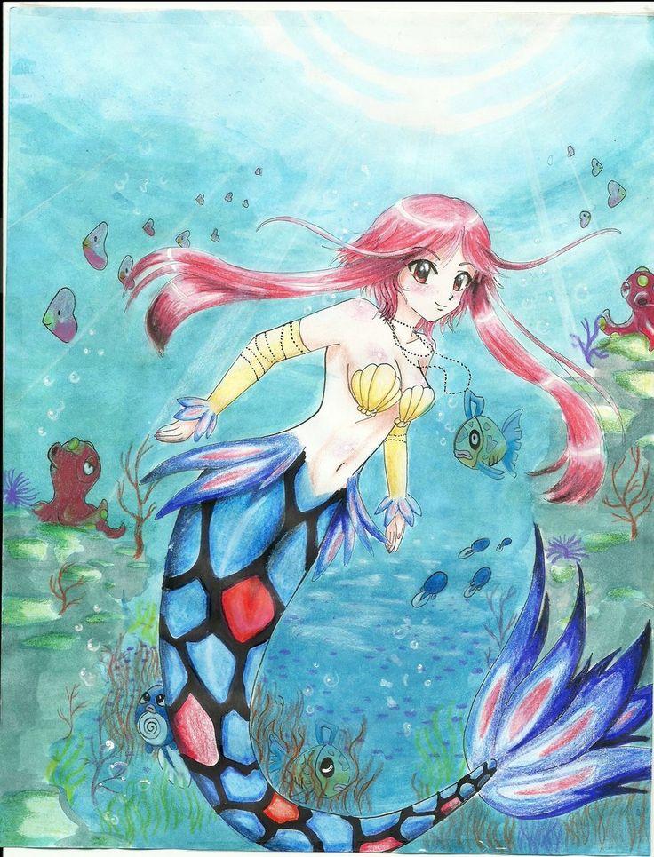 Milotic Mermaid Gijinka