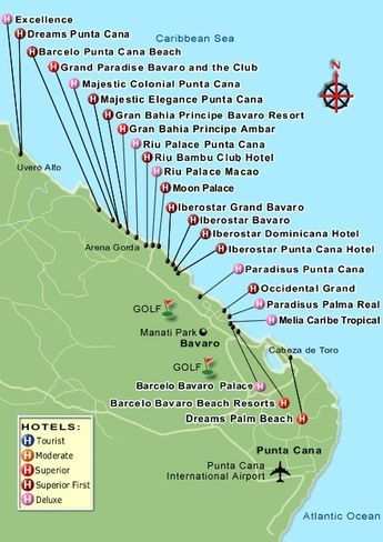 Die Besten Dominican Republic Map Ideen Auf Pinterest Punta - Dominican republic cities map