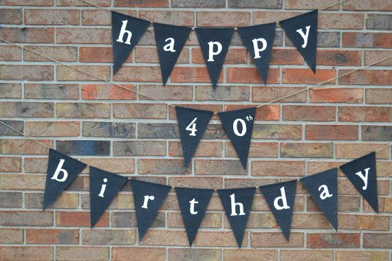 Happy Birthday banner .. Party Banner by ExpressionsInDesign