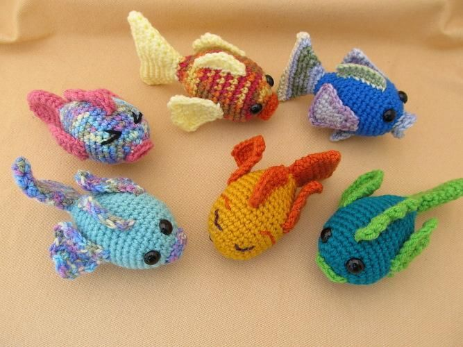 Angel Fish Amigurumi Pattern : 223 best images about Crochet Sealife on Pinterest