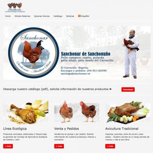 Pollos ecológicos y Avicultura biológica y tradicional Sanchonar. http://www.generacionnatura.org/directorio/productos-ecologicos-artesanos/113-sanchonar.html