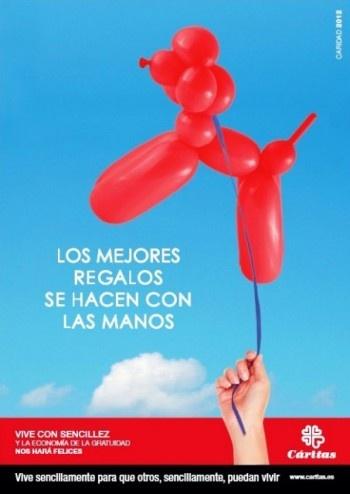 Cartel de la campaña institucional con motivo del Día de la Caridad