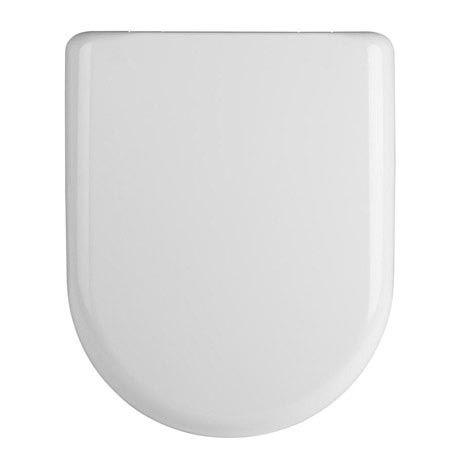Premier Luxury D-Shape Soft Close Toilet Seat with Top Fix, Quick Release - NTS004