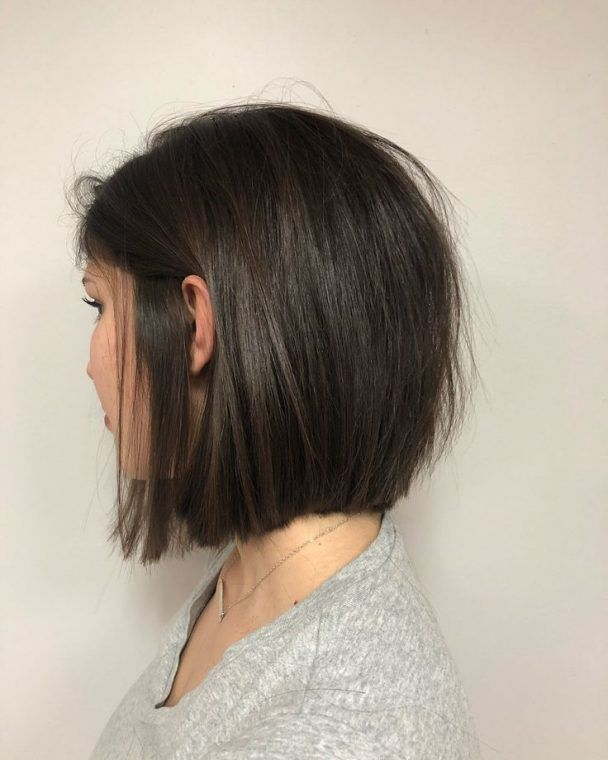 Idée coupe courte : Blunt bobs are my favorite haircut! – Flashmode Tendance | …