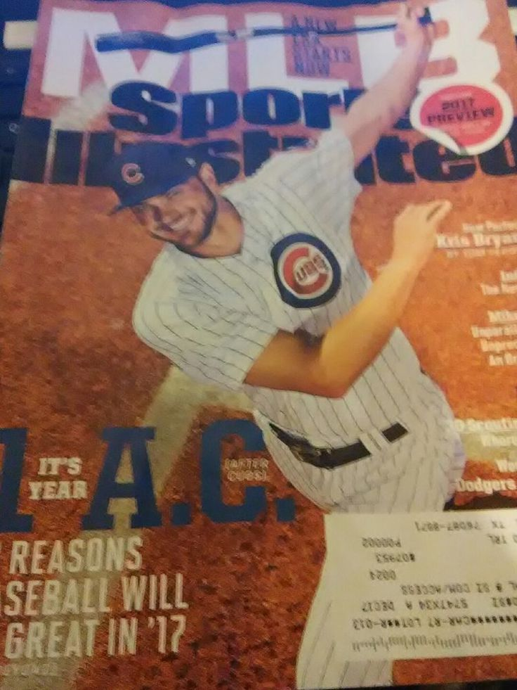 Sports Illustrated March27-April 3 2017 Chris Bryant: Cubs: MLB 2017 Preview