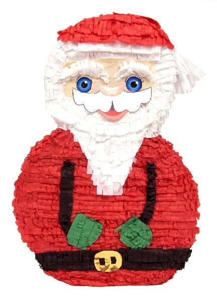 Christmas Santa Claus Pinata for your kids birthday party! Buy at pinatas.com, home of custom pinatas of the highest quality and the widest selection of pinatas on the internet.