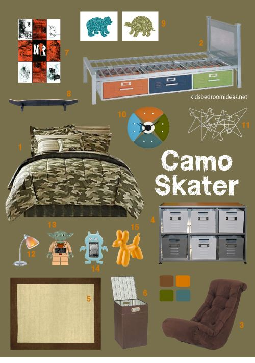 Skateboard Bedroom 41 best camo skateboard bedroom images on pinterest | home, 3/4