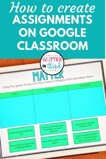 Do you need help creating an assignment for students on Google Classroom using a…