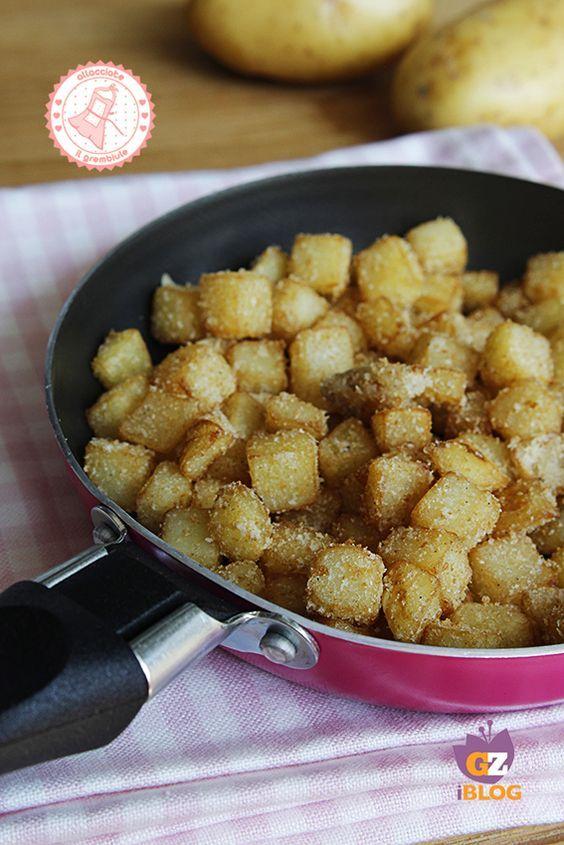 SANDY patatas en PAN