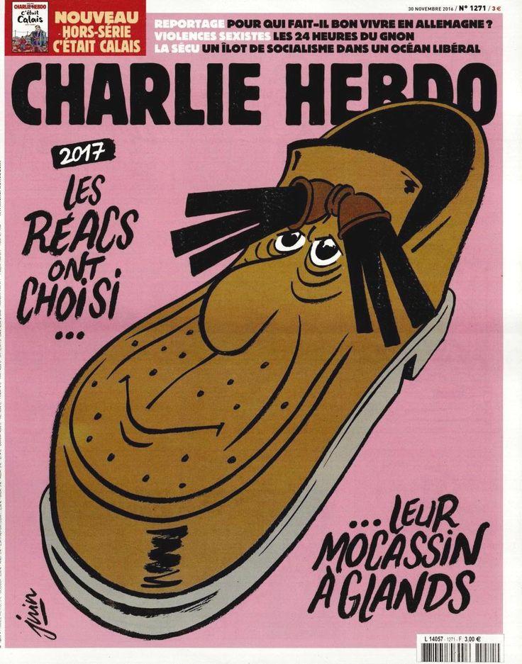 Charlie Hebdo - # 1271 - Mercredi 30 Novembre 2016 - Couverture : Juin